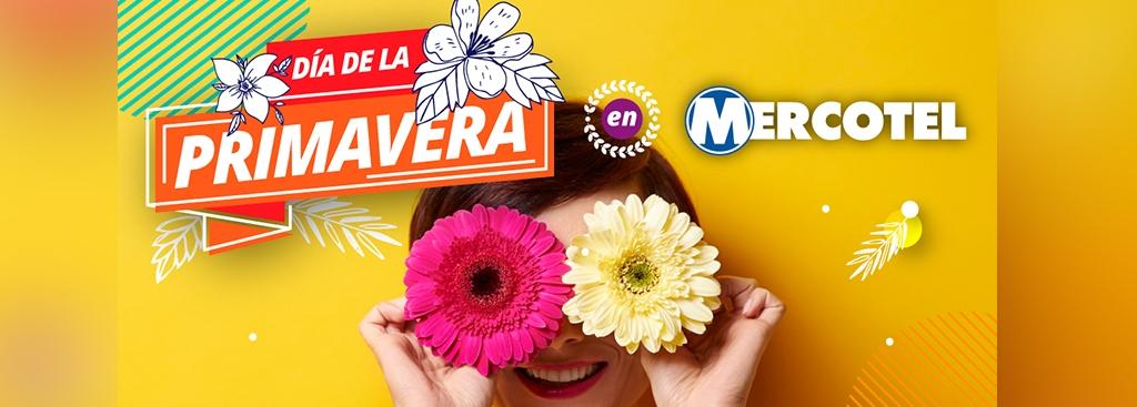 ¡El Día de la Primavera se celebra en MERCOTEL!