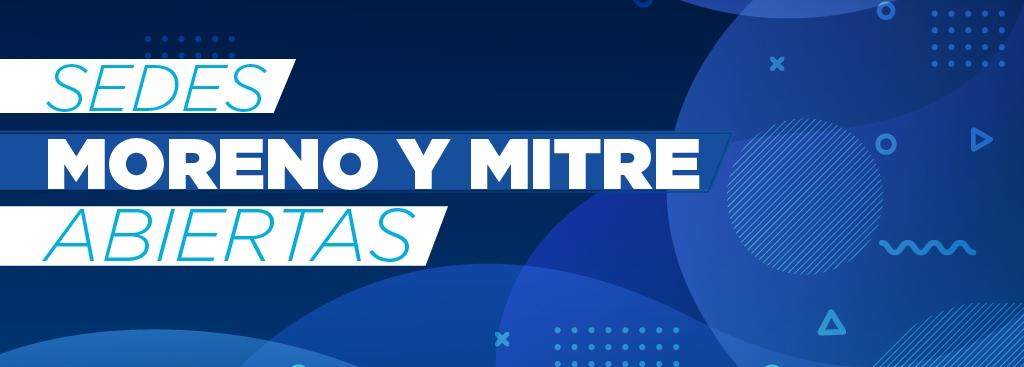 Moreno y Mitre: Protocolo de atención durante el aislamiento