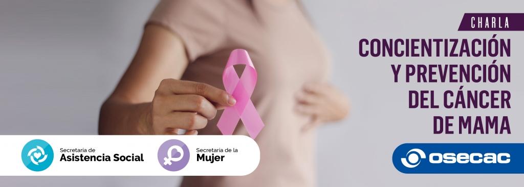 Charla Virtual: Concientización y prevención del Cáncer de Mama