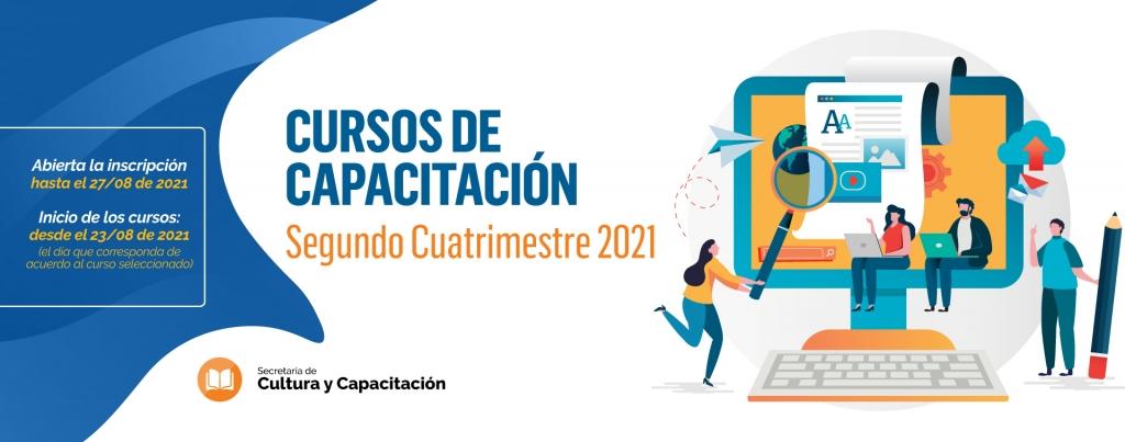¡COMIENZA LA INSCRIPCIÓN PARA LOS CURSOS DE CULTURA Y CAPACITACIÓN - SEGUNDO CUATRIMESTRE!