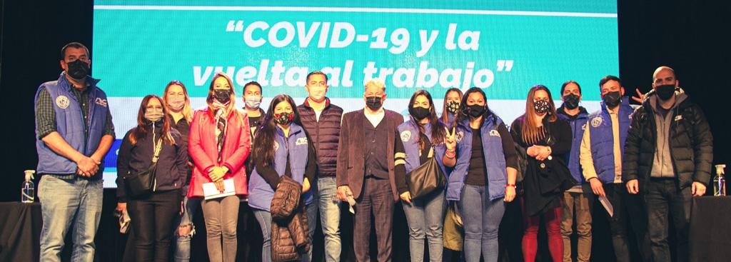 """Jornada """"COVID-19 y la vuelta al trabajo"""""""