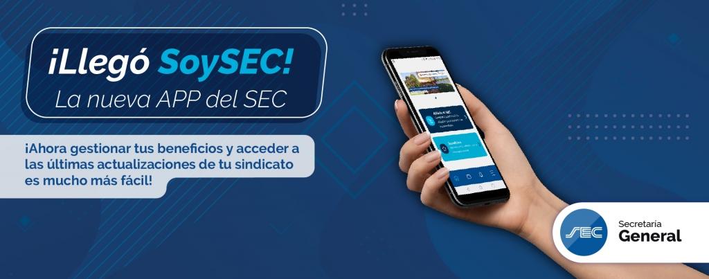 ¡Descargá la nueva app del SEC!
